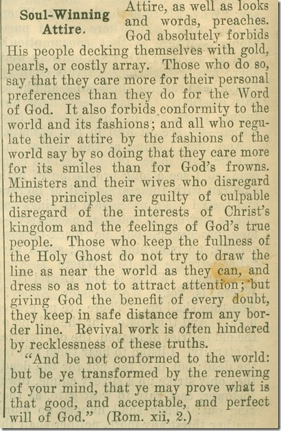 God's Revivalist July 4 1901 Attire