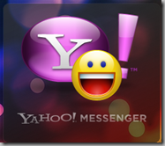 Yahoo Messenger for Vista Splash Logo