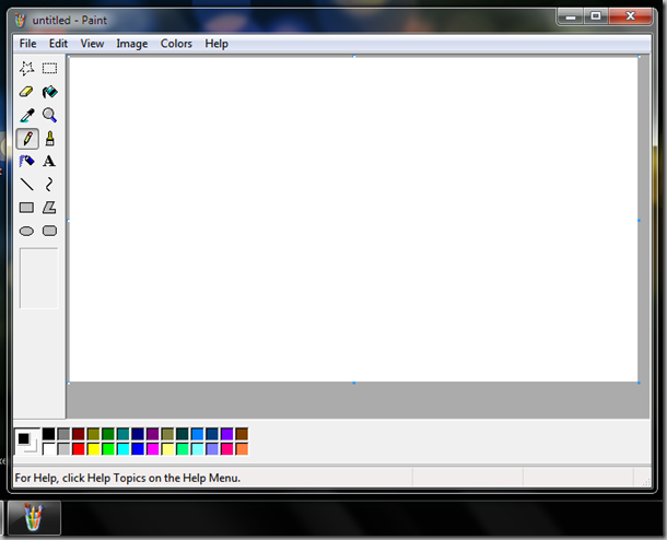 Paint XP screenshot