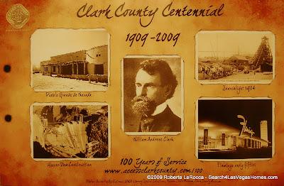 Clark County, NV Centennial Poster