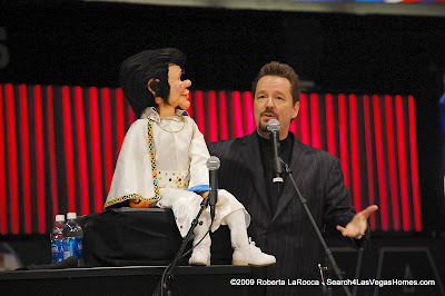 Terry Fator and Maynard Las Vegas