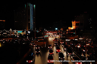 Las Vegas Strip South Dark for Earth Hour 2009