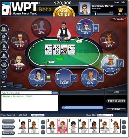 Wpt texas hold em poker