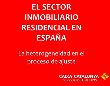 sector inmobiliario residencial españa mayo 2010 caixa catalunya