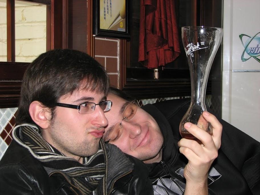 Nico et François.