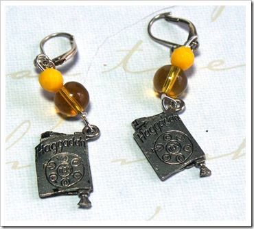Haggadah Earrings