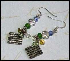 Matzah Earrings