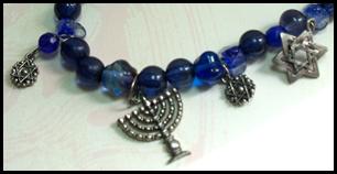 Jewish New Year Charm Bracelet