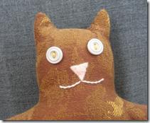 Petey the Cat Head Doll