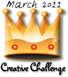 Tamdoll's Creative Crown Challenge