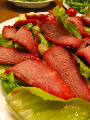 叉燒肉生菜沙拉