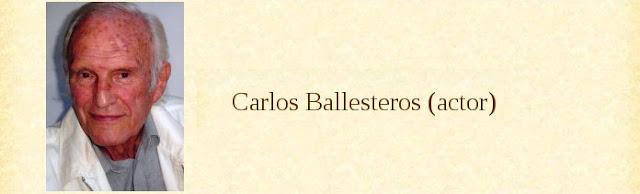 Carlos Ballesteros (actor)