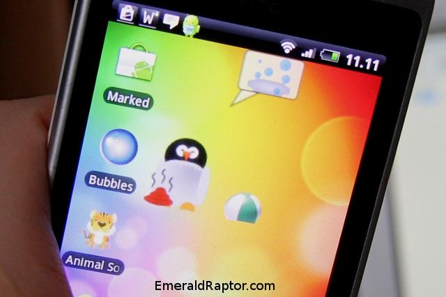 Datadyr til mobiltelefon (TamaWidget til Android)