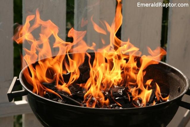 Påtent grill