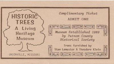 ticket to tree museum