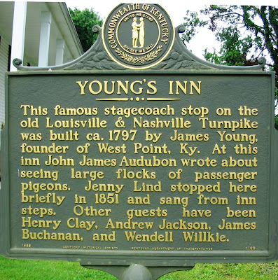 Youngs Inn in West Point Kentucky