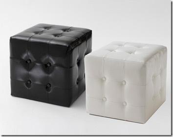 pouf cube Becquet