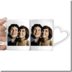 duo de mugs coeur photo