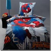 drap housse Spider Man
