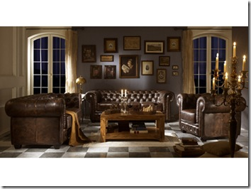 d coration bureau style anglais d co sphair. Black Bedroom Furniture Sets. Home Design Ideas