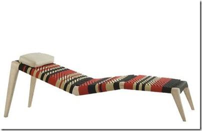 chaise longue africaine