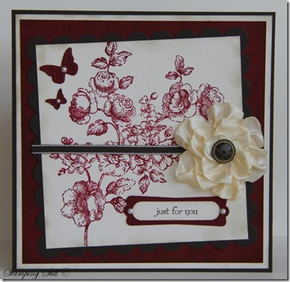 Kathy Tanner - new card