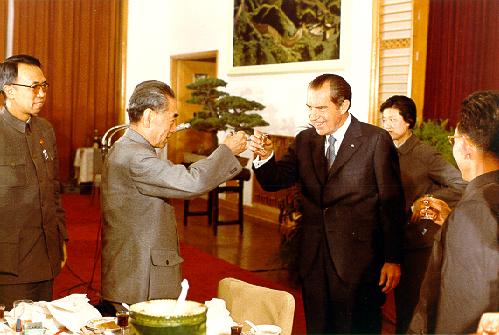 Никсон в Китае