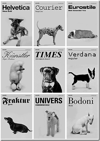 dogs-as-typefaces