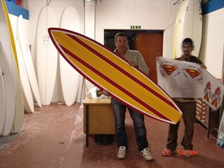 NS Surfboard Single fin