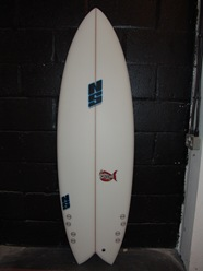 Crunchy Fish NS Boards Four fins
