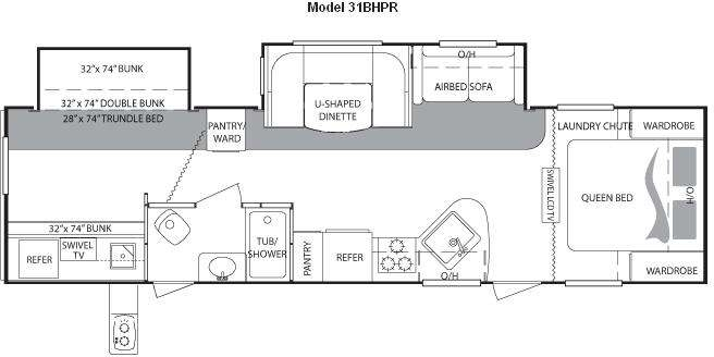 31BHPR Floor Plan