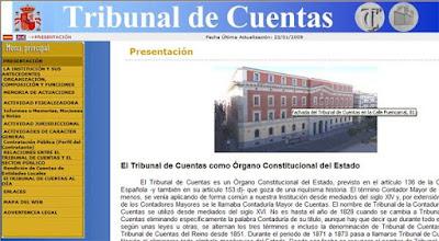 portal Tribunal de Cuentas