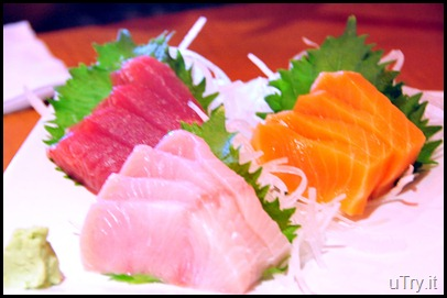 Assorted Sashimi Set Lunch