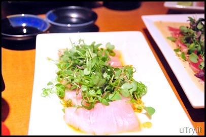 Garlic Citrus Yellowtail