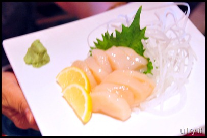Scallop Sashimi