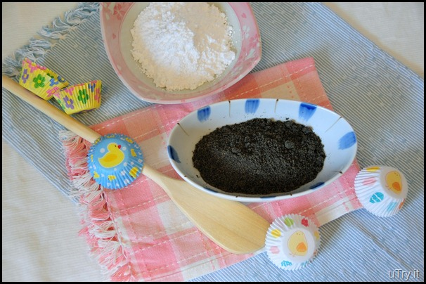 Black Sesame Seed Mochi Ingredients