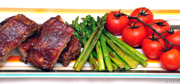 Baby Back Ribs with Roasted Vegetables