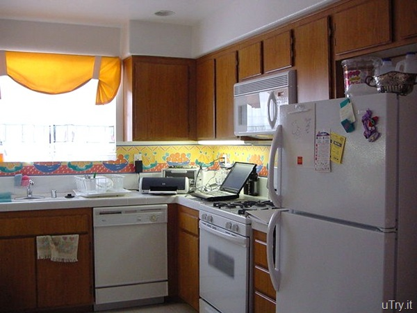 Kitchen of the previous condo