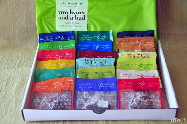 Two Leaves and a Bud--Complete Sachet Sampler