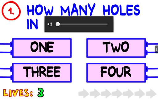 The Impossible Quiz! - screenshot