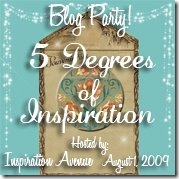 IA-5 Degrees of Inspiration-Blog Party - Aug 1