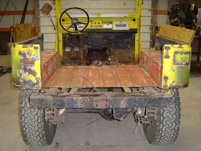 Removed Old Tailgates
