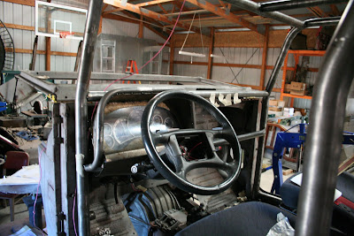 Firebird Steering Column in FJ40