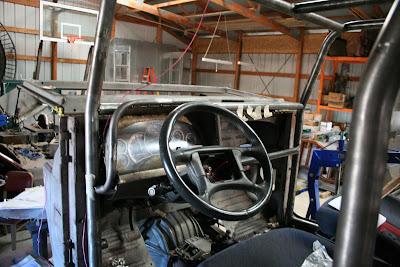 Firebird Steering Column in FJ40
