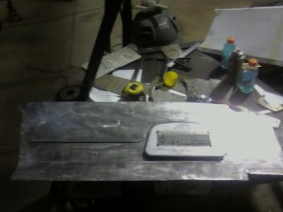 Large Dash Panel with Glovebox