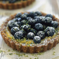 Blueberry-Lime Ginger Tartlets