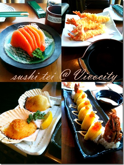 Sushi Tei Collage