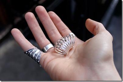 marc jacob spiral ring