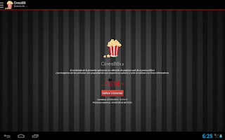 Screenshot of CinesBB