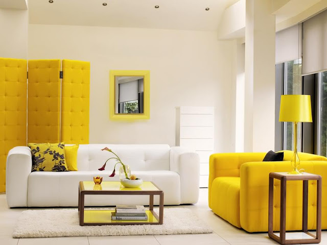 Modern living room interior with sofa sets 05 Modern living room interior with sofa sets